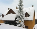 Vista exterior invierno 3 Apartamento Baqueira - Tanau